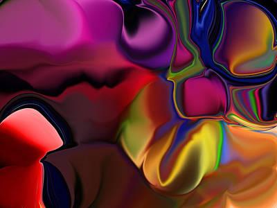 Unreal Digital Art - Time Flies Like An Arrow Fruit Flies Like A Banana by Jim Williams