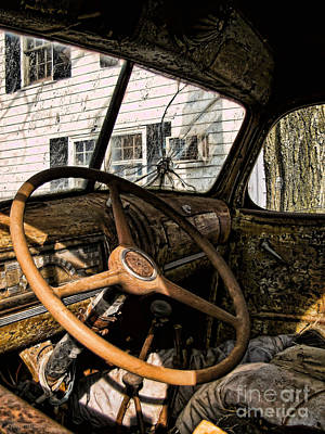 Photograph - Time For A New Ride by Colleen Kammerer
