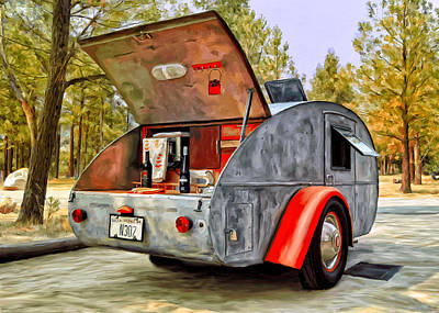 Painting - Time For Camping by Michael Pickett