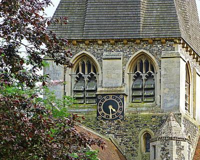 Time For Church Art Print by Gill Billington