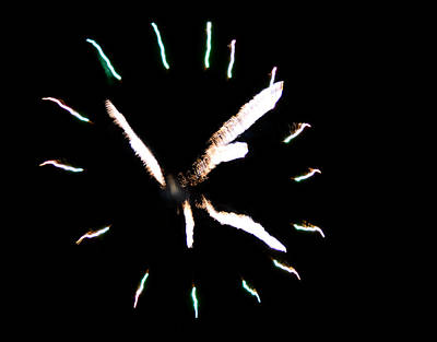 Time For Fireworks Art Print by Jeffrey J Nagy