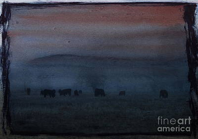 Time For Grazing Art Print
