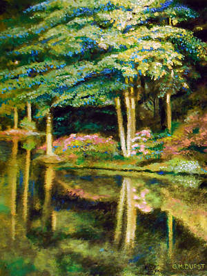 Atlanta Painting - Time For Reflection by Michael Durst