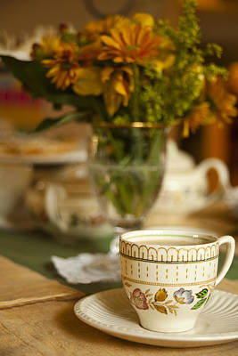 Cup Photograph - Time For Tea by Andrew Soundarajan
