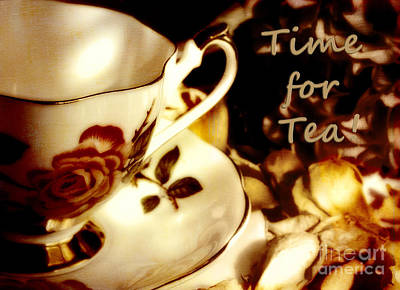 Photograph - Time For Tea by Karen Lewis