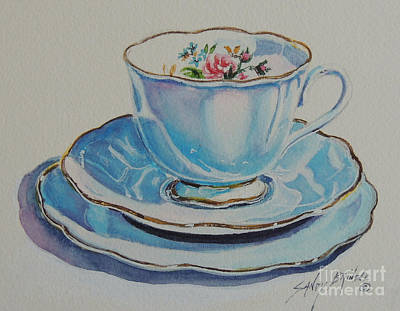 Painting - Time For Tea Sold by Sandy Brindle