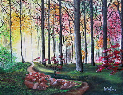 Painting - Time For Wandering by Gloria E Barreto-Rodriguez