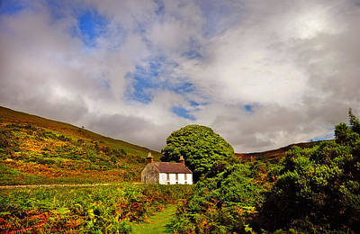 Abandoned Houses Photograph - Time Goes By So Slowly. White Abandoned House In Wicklow by Jenny Rainbow