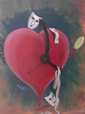 Time Heals Print by Gerard Provost