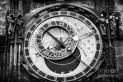 Time In Prague Art Print