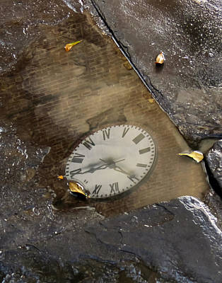 Photograph - Time In Reflection by Deborah Smith