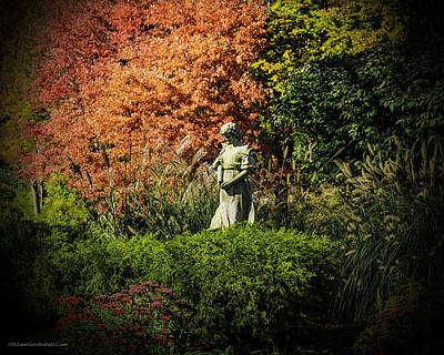 Photograph - Time In The Garden by LeeAnn McLaneGoetz McLaneGoetzStudioLLCcom