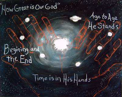 Time Is In His Hands Original by Shelia  Doebereiner
