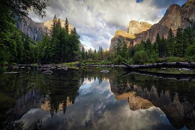 Yosemite Half Dome Photograph - Time by Juan Pablo De