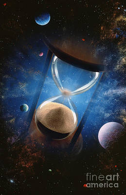 Time Art Print by Mike Agliolo