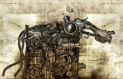 Time Monster Art Print by Diuno Ashlee
