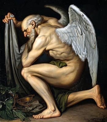 Old Man Digital Art - Time by Pieter Cornelis Wonder