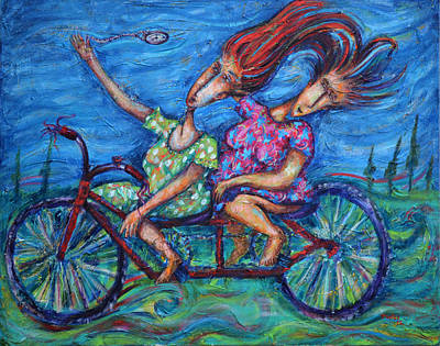 Painting - Time Ride by Pablo Montes