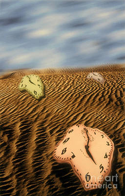 Meltdown Photograph - Time Running Out by Novastock
