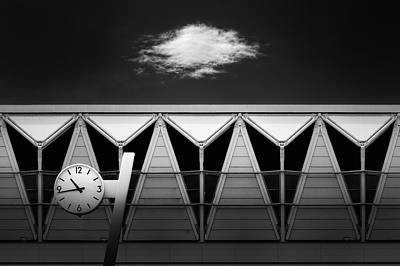 Clock Wall Art - Photograph - Time Stop by Dr. Akira Takaue