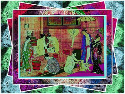 Bathe Digital Art - Time To Bathe by EricaMaxine  Price