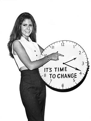 Time To Change Art Print