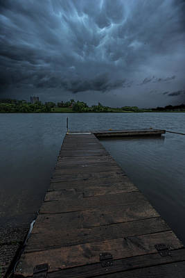 South Dock Wall Art - Photograph - Time To Go by Aaron J Groen