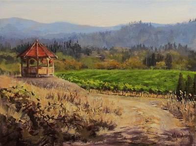 Time To Harvest Art Print by Karen Ilari