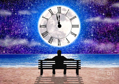 Digital Art - Time Waits For No One by Cristophers Dream Artistry
