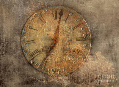 Running Digital Art - Time Waits For No One by Randy Steele