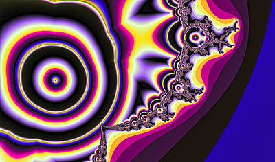 Digital Art - Time Warp by Betsy Jones