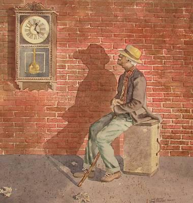 Painting - Time Watch by Tony Caviston