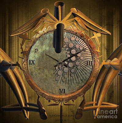 Time Will Move Forward Art Print