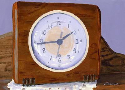 Time Will Tell Original by Lynne Reichhart
