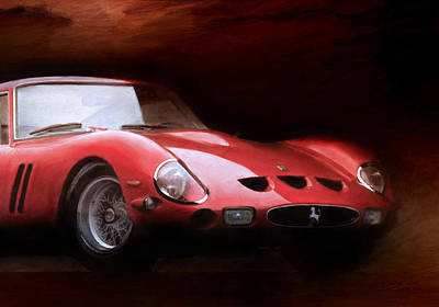 Ferrari 250 Gto Digital Art - Timeless 250 Gto 2 by Peter Chilelli