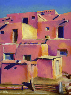 Painting - Timeless Adobe by Stephen Anderson
