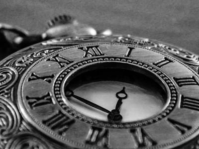 Photograph - A Vintage Clock - Timeless by Andrea Mazzocchetti