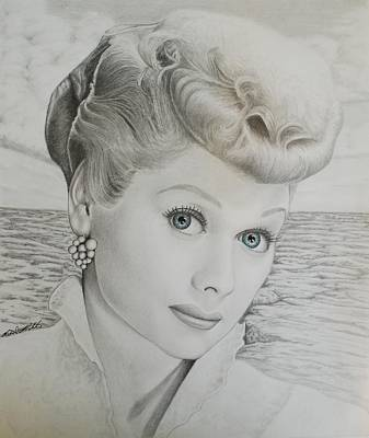 Drawing - Timeless Beauty 2 by Brent  Mileham