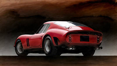 Ferrari 250 Gto Digital Art - Timeless Ferrari by Peter Chilelli