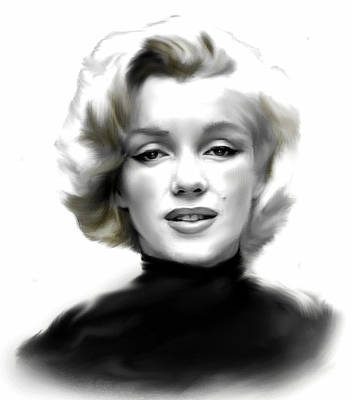 Marylin Painting - Timeless Marilyn Monroe  by Iconic Images Art Gallery David Pucciarelli