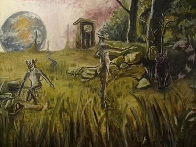 Timeless Meadow Print by Robert Sage
