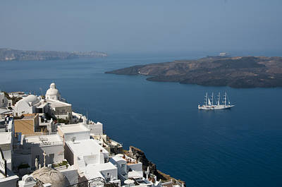 Photograph - Timeless Santorini by Brenda Kean
