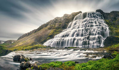 Water Fall Photograph - Timeless by Stefan Mitterwallner