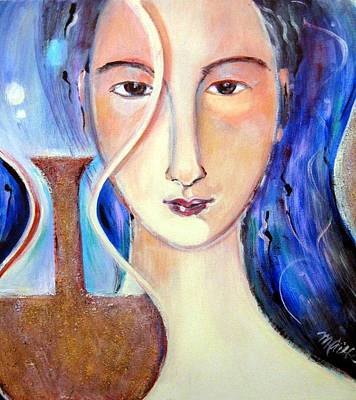 Painting - Timepiece by Marlene LAbbe