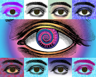 Digital Art - Time's Eye by Eric Edelman