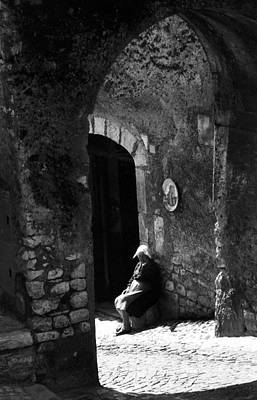 Photograph - Times In Sermoneta by Emanuel Tanjala