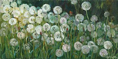 Painting - Times Of Dandelion by Juliya Zhukova