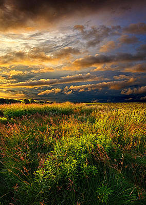 Times Of Old Print by Phil Koch