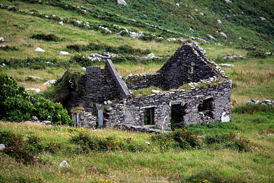 Stone Buildings Photograph - Times Past by Aidan Moran