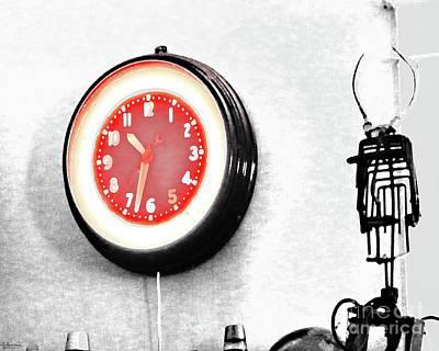 Digital Art - Times Red by Lizi Beard-Ward